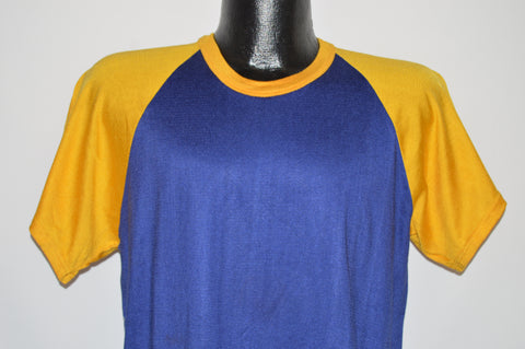 70s Felco Blue Yellow Jersey t-shirt Large