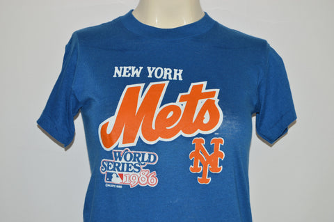 80s New York Mets 1986 World Series Champs t-shirt Youth Large