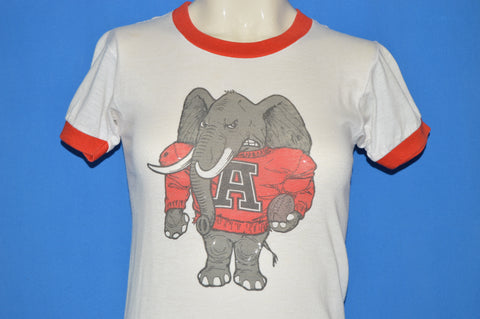 80s Alabama Crimson Tide Elephant t-shirt Youth Large