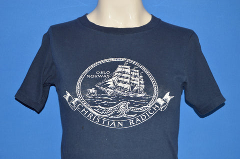 70s Christian Radich Sailing Ship Champion t-shirt Extra Small