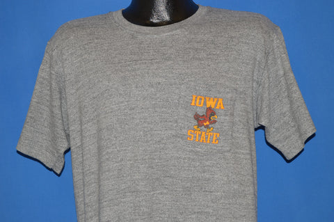 80s Iowa State Cyclones t-shirt Large