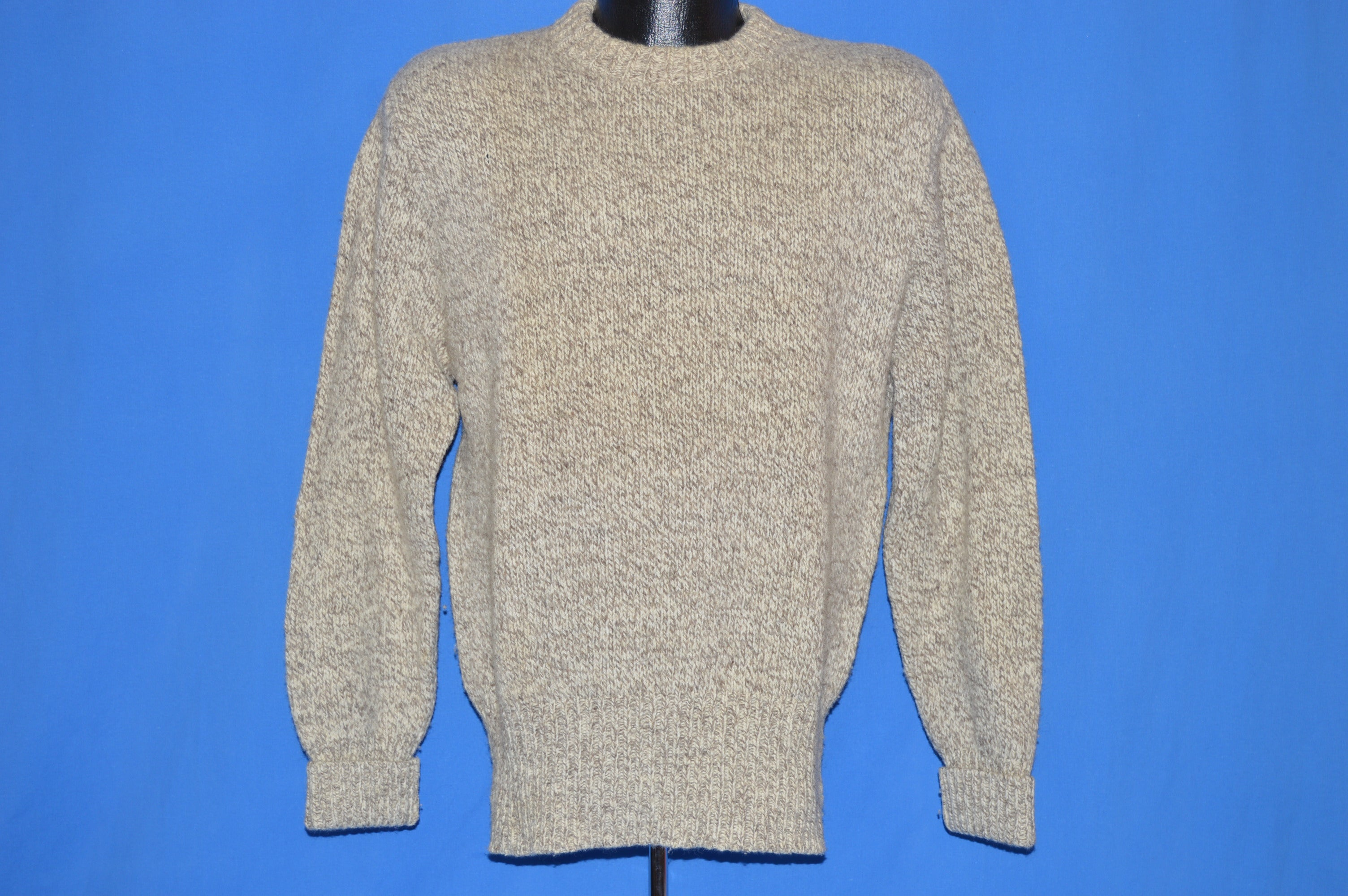 80s Ed Bauer Wool Long Sleeve Sweater Medium The Captains Vintage