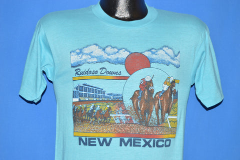 80s New Mexico Ruidoso Downs Horse Races t-shirt Small