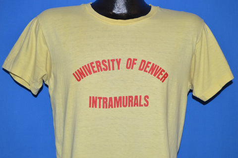 70s tagged vintage t shirt the captains vintage 70s university of denver water polo 1977 t shirt medium sciox Image collections