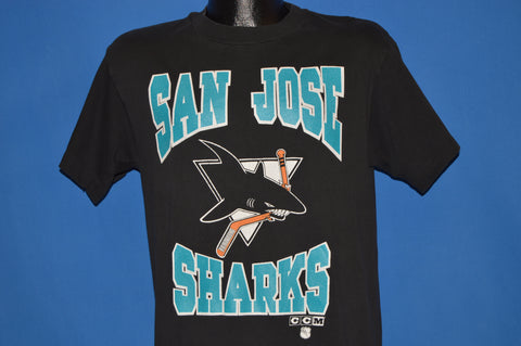 90s San Jose Sharks Mascot t-shirt Medium