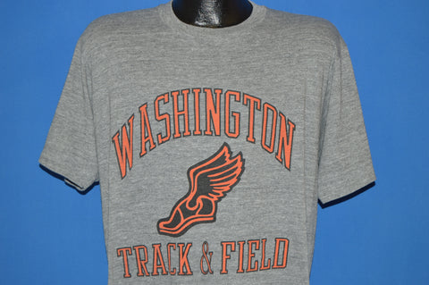 80s Washington Track And Field t-shirt Large