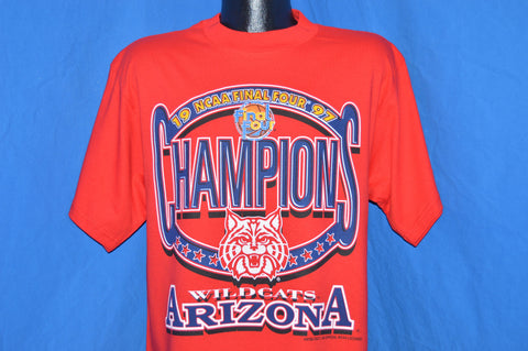 90s Arizona Wildcats 1997 NCAA Final Four Champs t-shirt Large