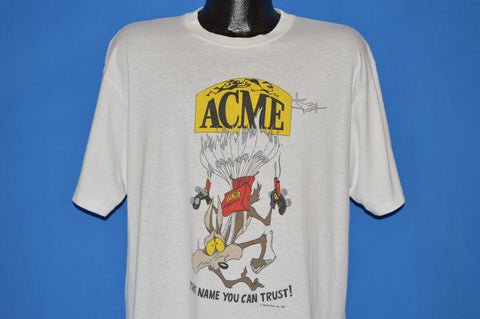 80s Wile E. Coyote Acme Looney Tunes t-shirt Extra Large