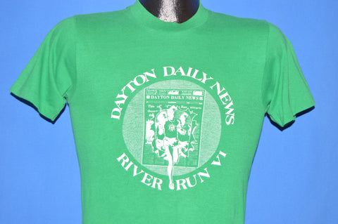 70s Dayton Daily News River Run VI t-shirt Extra Small