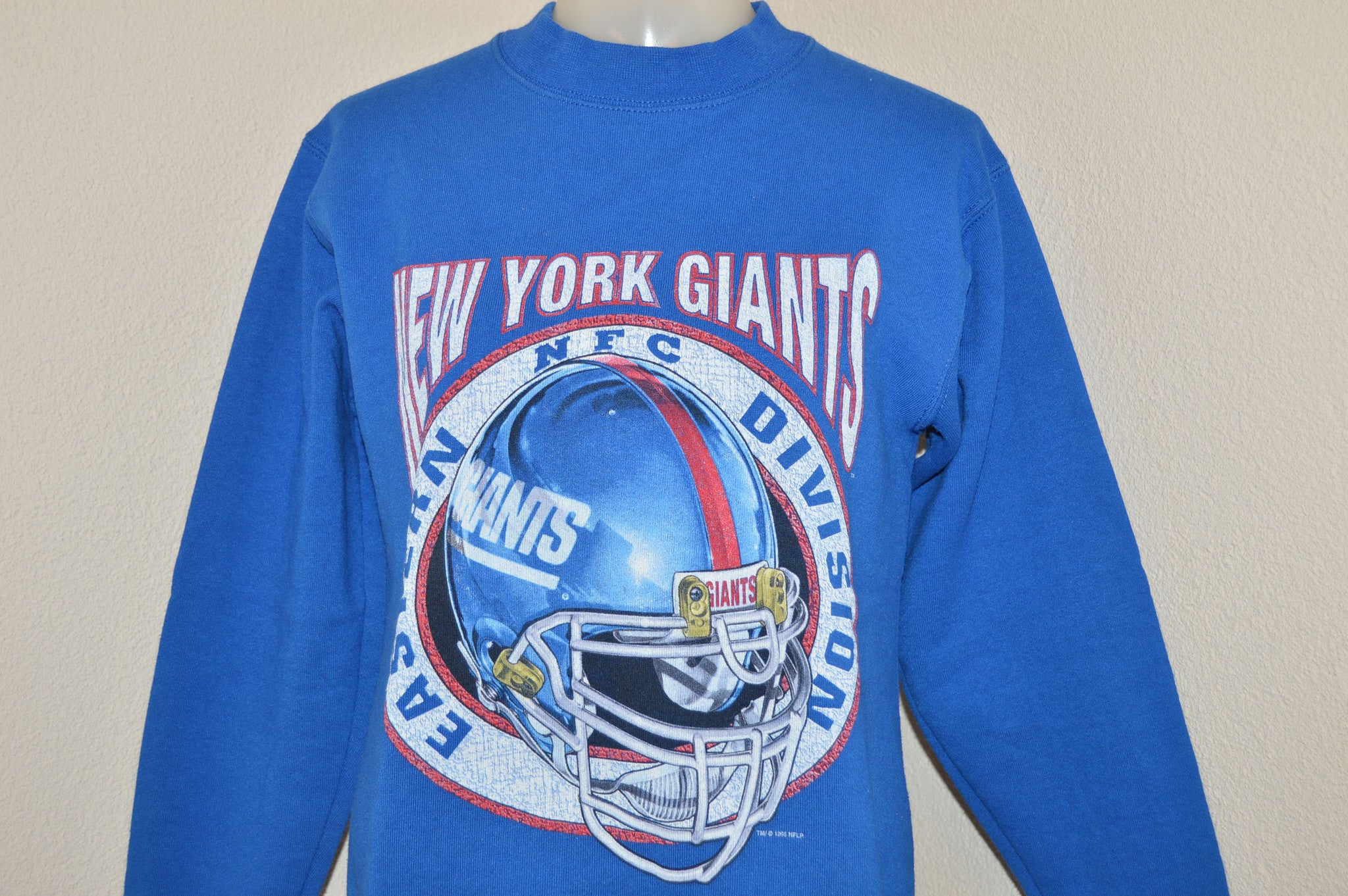 Hot 90s New York Giants Sweatshirt Youth Large The Captains Vintage  hot sale