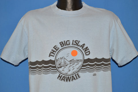 70s Hawaii The Big Island Tourist t-shirt Large