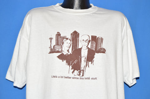 90s American Gothic Life Is Better Since Latte t-shirt Extra Large