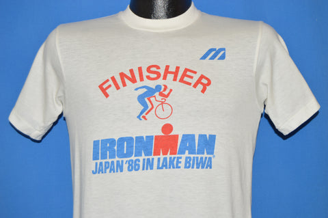80s Mizuno Finisher Iron Man Japan 1986 t-shirt Small