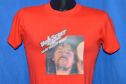 70s Bob Seger Silver Bullet Band Iron On t-shirt Extra Small