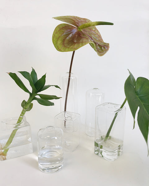 Johan - Glass Cylinder Bud Vase Medium - Portland, Oregon