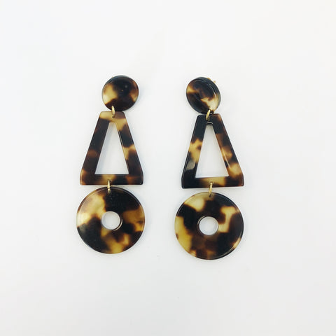 Johan - Apres Ski Lis Tortoise Earrings - Portland, Oregon