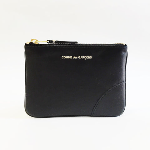 Johan - Comme des Garcons Classic Leather Small Black Zip-up Pouch - Portland, Oregon
