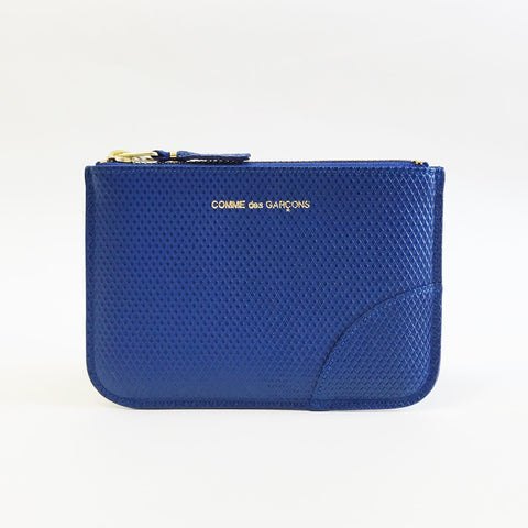Johan - Comme des Garcons Luxury Group Small Blue Zip-up Pouch - Portland, Oregon