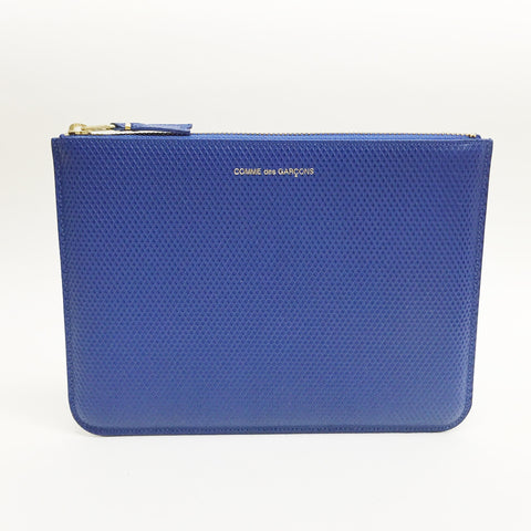 Johan - Comme des Garcons Luxury Group Large Blue Zip-up Pouch - Portland, Oregon