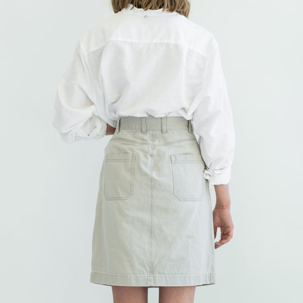 Khaki Carpenter Skirt