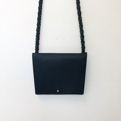 Johan - ARA Handbags - Navy Tiny Fold Over Shoulder Strap - Portland, Oregon