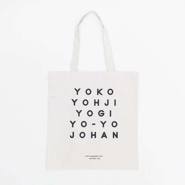Johan Greats Tote Bag