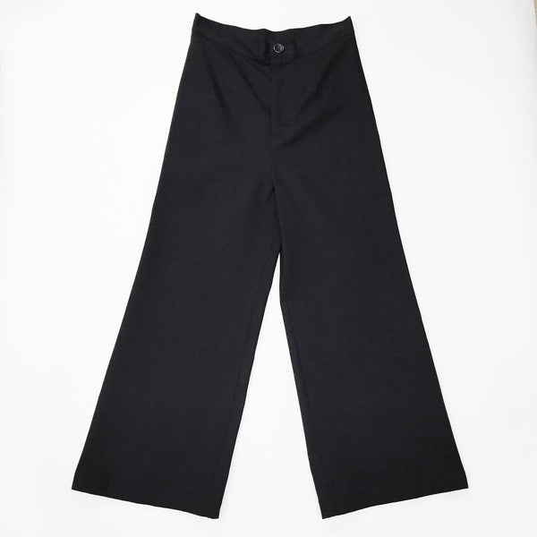 Johan - Laurs Kemp Black Wide Leg Crop Pant - Portland, Oregon