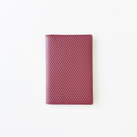 Johan - Comme des Garcons Luxury Group Small Burgundy Card Case - Portland, Oregon