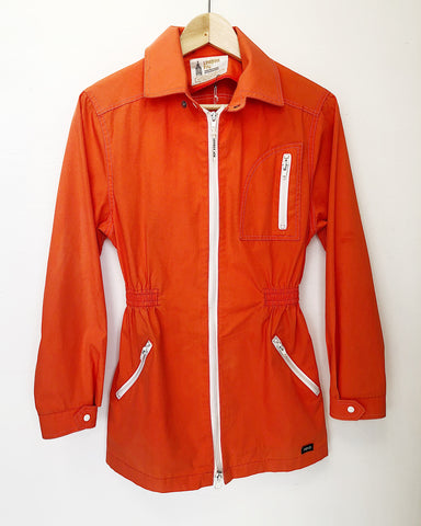 Orange London Fog Jacket