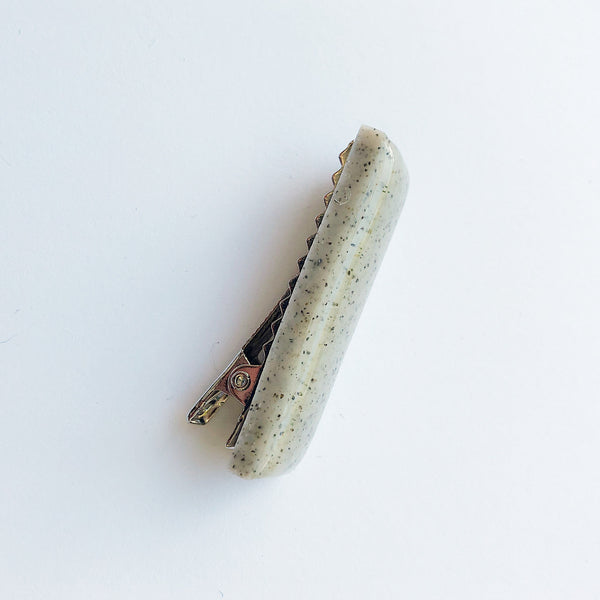 Sea + Pattern Speckled Hair Clip