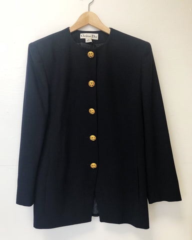 TBK Christian Dior Navy Jacket
