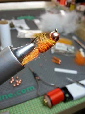 Orange Tungsten Flashback Scud 5.5mm #8