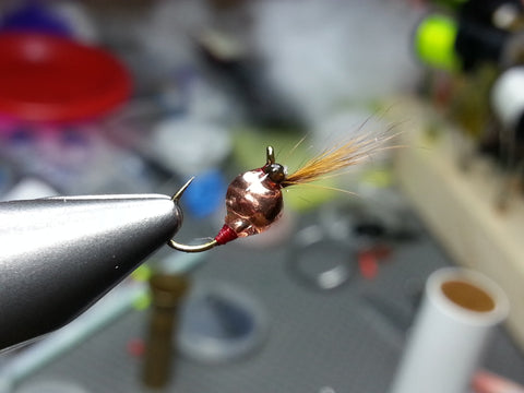 #14 Copper Squirrel Tungsten Zoo Bug