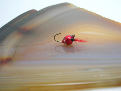 #14 Red Metallic Tungsten Zoo Bug