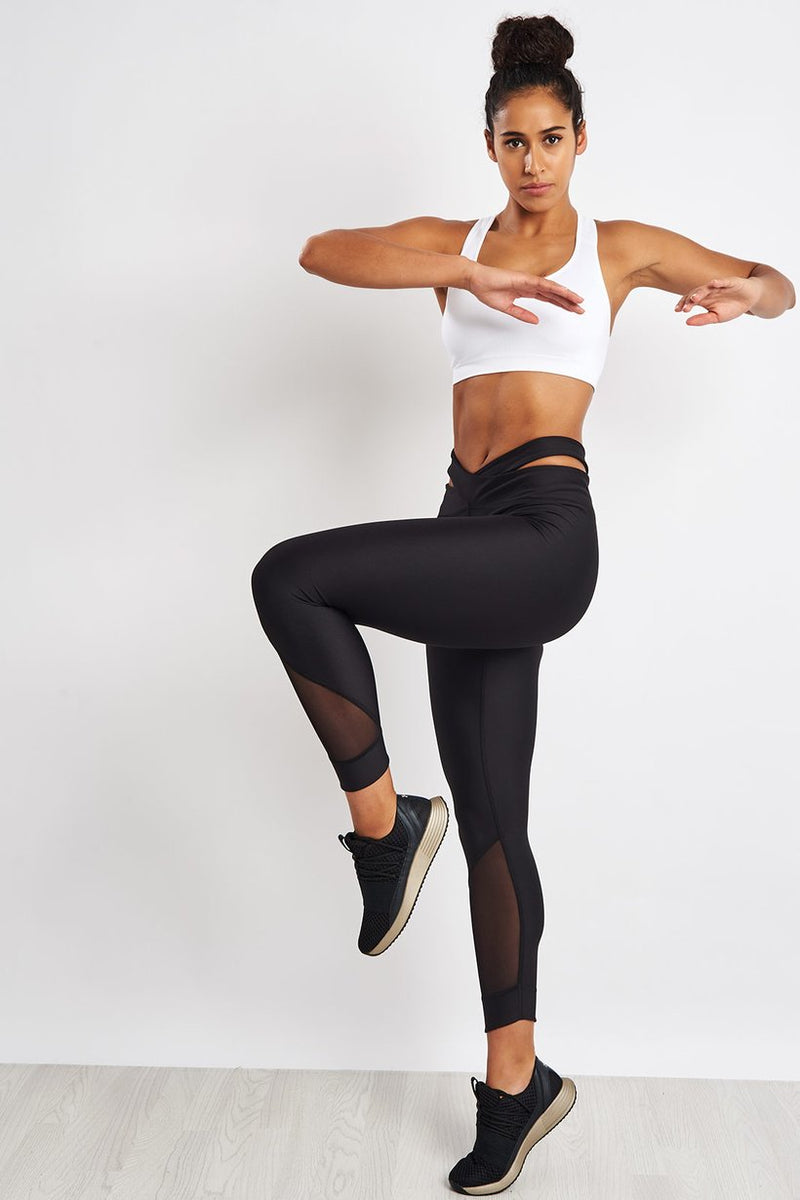 Anklette Leggings - Black