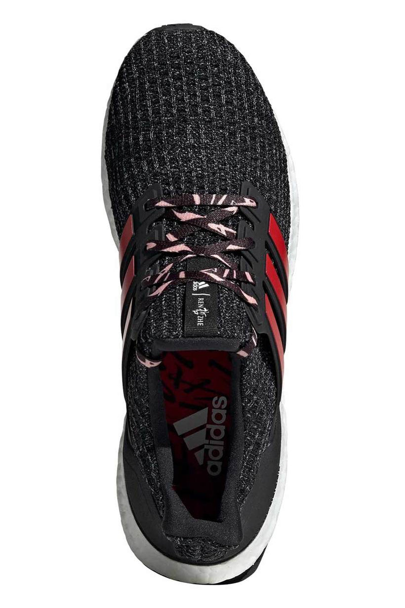 Ultraboost Shoes - Black/Scarlet | Men's