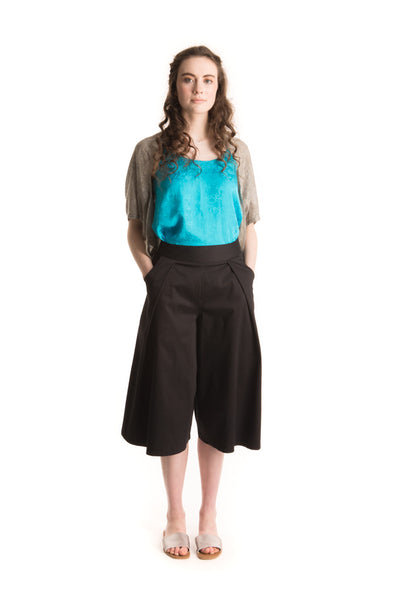 Culottes of Fun- Black