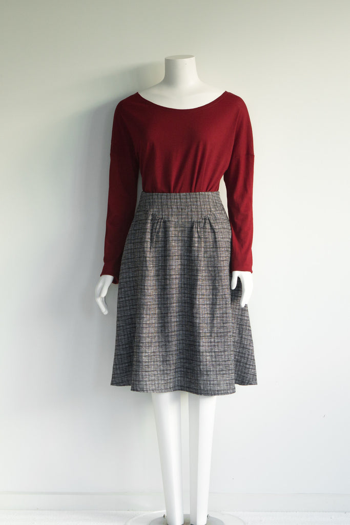 Grid Lock Skirt