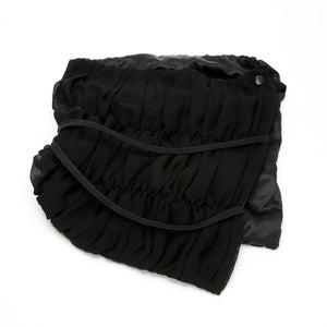 Ruched Oversized Scarflette Cowl