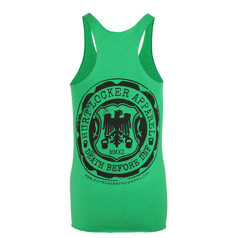 Classic - Greenie with Black tank