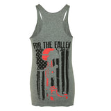 For the Fallen - Gray Tank