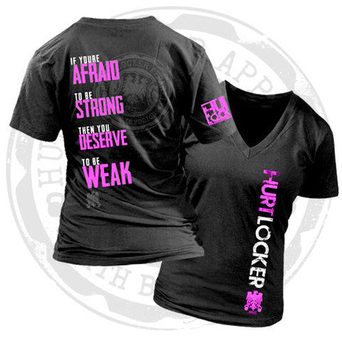 Deserve to Be Weak - Pink V-Neck
