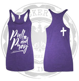 Pull and Pray- Purple Tank