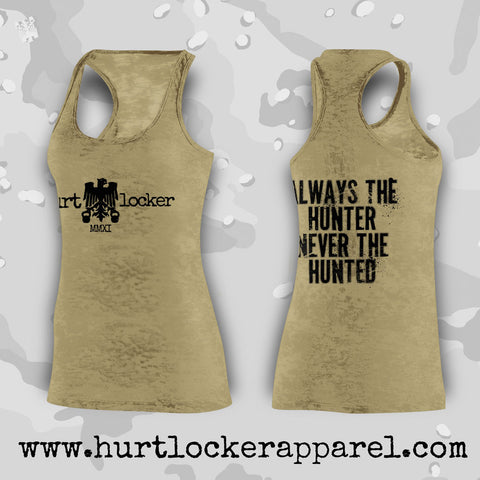 Always the Hunter - OD Green Tank