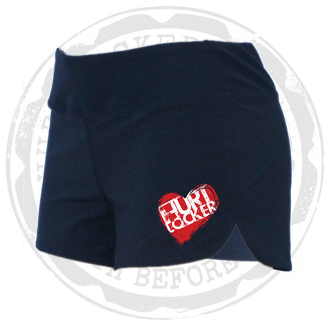 Ladies WOD Shorts - All Heart