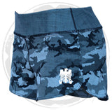 Ladies WOD Shorts - Camo