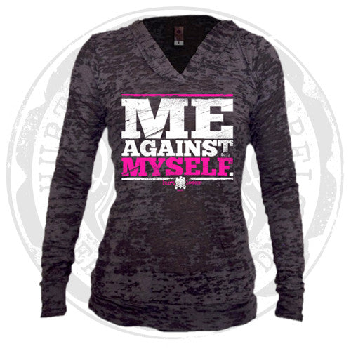 Me Against Myself - Burnout Hoodie (Black)