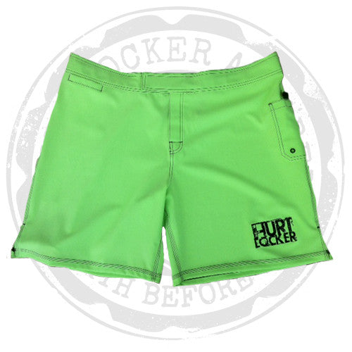 WOD Shorts - Neon Green