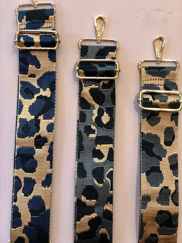 Cheetah Print Bag Straps