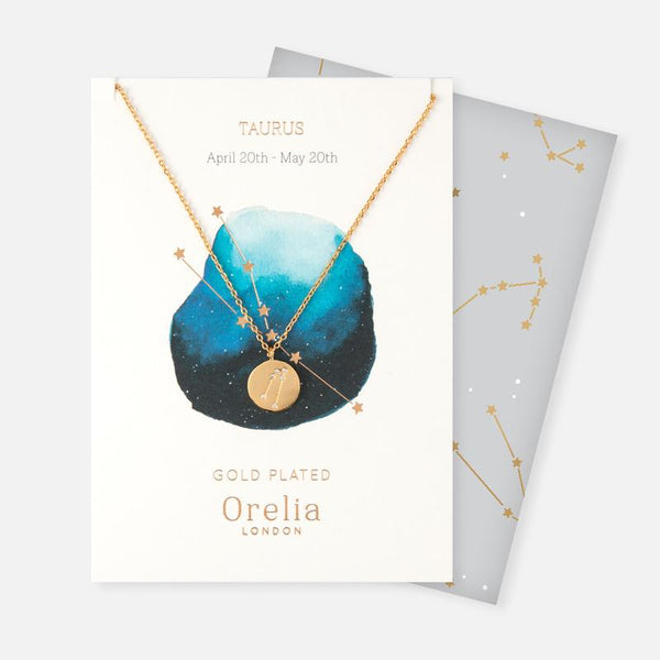 Constellation Disc Necklace